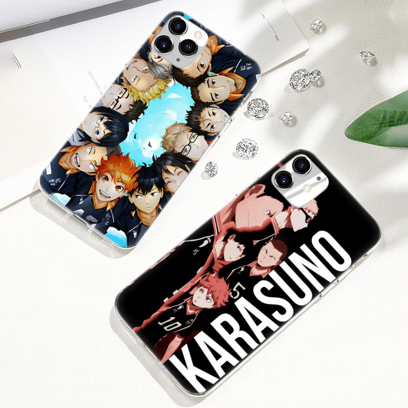 Hot Haikyuu Hinata Anime Volleyball Soft Silicone <font><b>Case</b></font> for Apple <font><b>iPhone</b></font> 11 Pro <font><b>XS</b></font> Max <font><b>X</b></font> XR 6 6s 7 8 Plus 5 5s SE Fashion Cover image