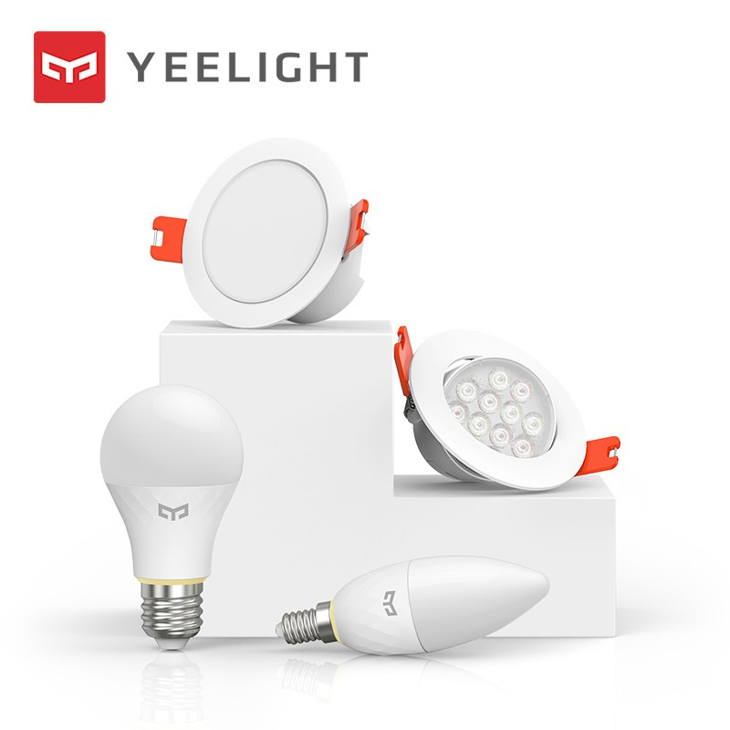Yeelight Smart Light Source Set Smart Kits Bulb Lamp/Downlight/Spotlight/ Candle Lamp Work With MI Home Bluetooth Mesh Edition