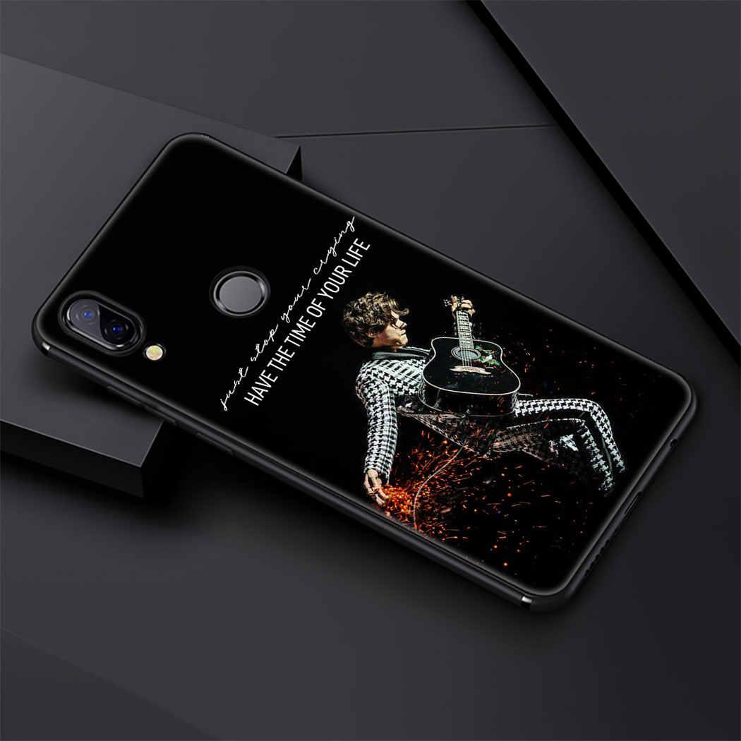 歌手ハリースタイルソフトシリコンケース Huawei 社メイト 30 プロ Lite Y9 首相 P9 P8 Lite カバー