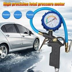 Monitorowanie ciśnienia w oponach SystemTire Inflator z manometrem 220PSI miernik ciśnienia w oponach Inflator akcesoria do sprężarek powietrza