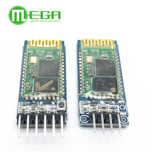 Image 1 - Original 50 unids/lote HC05 JY MCU anti reversa, módulo de paso serial Bluetooth integrado, HC 05 6 pines, HC 06 4 pines