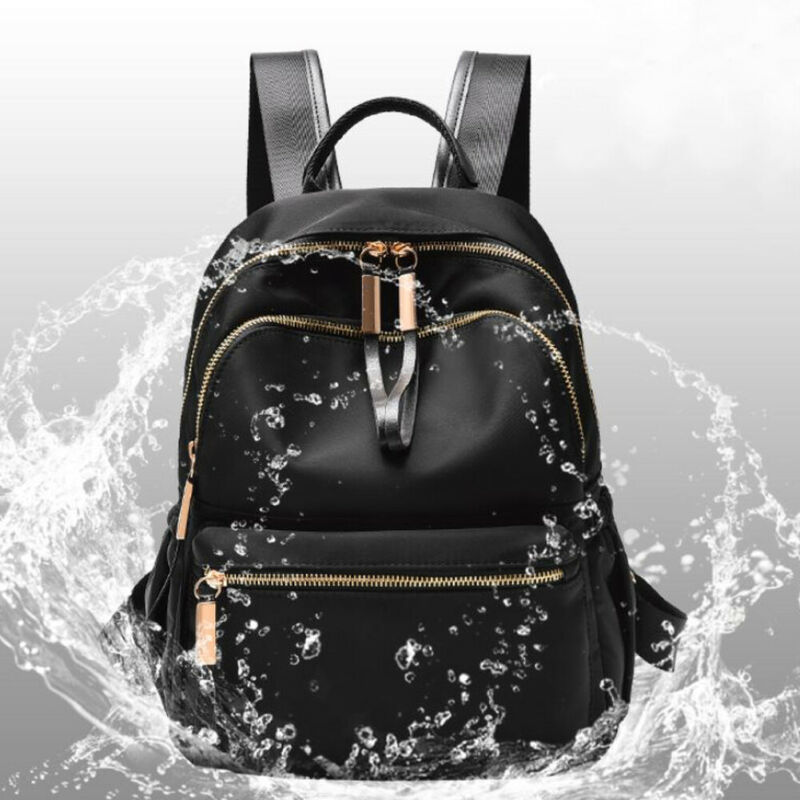 2019 Waterproof Oxford Backpack Rucksack Women Black School Bags For Teenager Girls Large Capacity Fashion Travel Tote Backpack