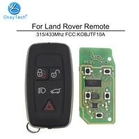 OkeyTech for Land Rover Landrover LR4 Discovery Sport Freelander Evoque Smart Key Remote Control 5 Button 315/433 Mhz KOBJTF10A
