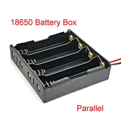 18650 Power Bank Cases 4 18650 Battery Holder Storage Box Case 18650 Parallel Battery Box