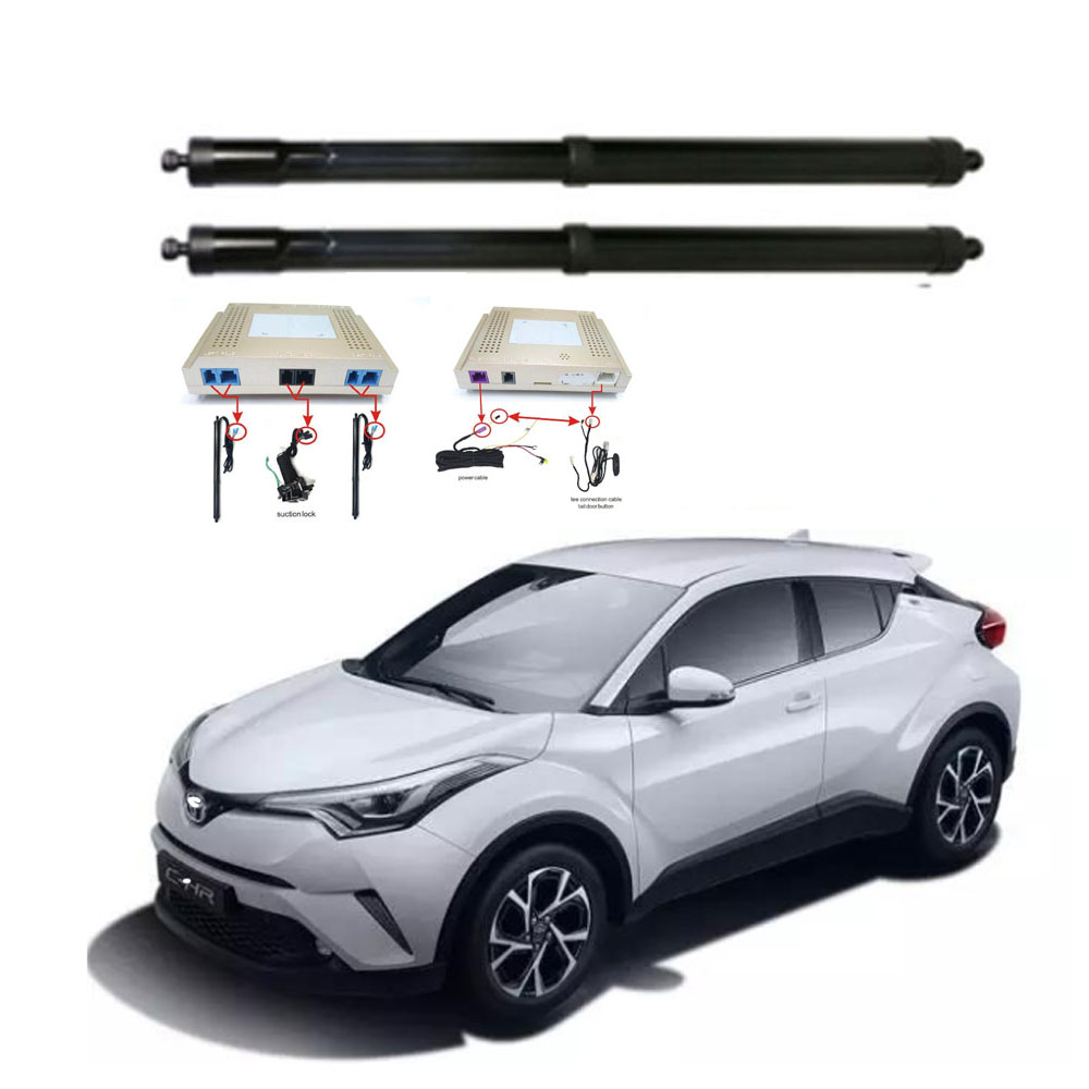 New Electric Tailgate Refitted For Toyota CHR 2017 -Tail Box Intelligent Electric Tail Door Power Tailgate Lift Lock