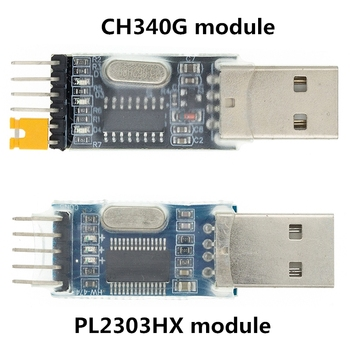 PL2303 USB To RS232 TTL Converter Adapter Module/USB TTL converter UART module CH340G CH340 module 3.3V 5V switch usb to rs232 485 to ttl communication conversion module industrial rs485 converter 340 adapter supports win10