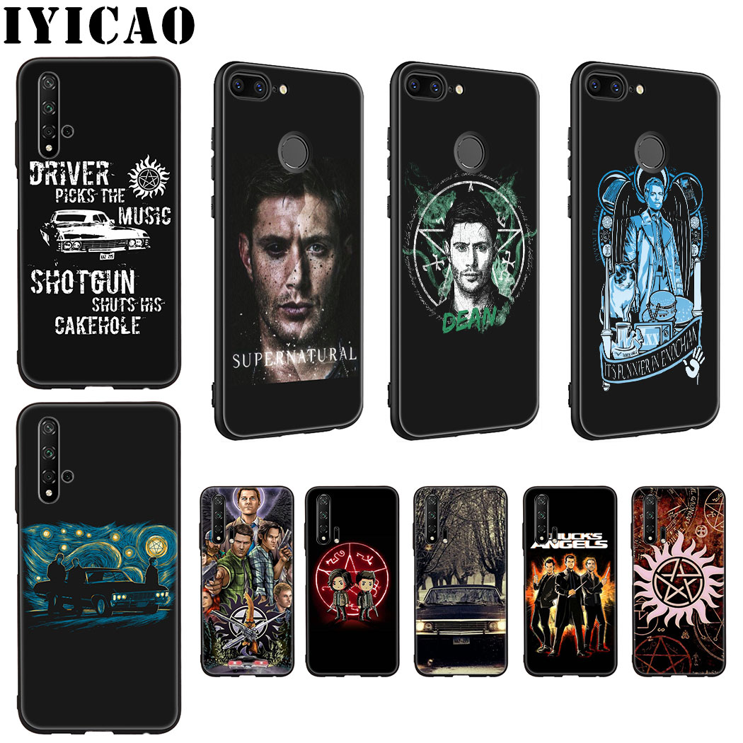 IYICAO Supernatural Soft Silicone Case for Huawei Honor view 20 9X Pro 10 9 8 Lite 8X 8C 7X 7C Note 10 Case image