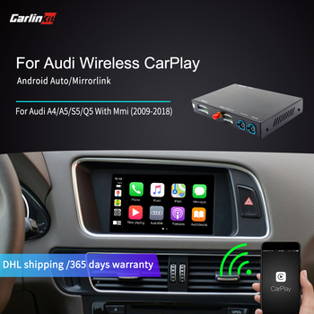 Carlinkit Wireless/Wired Apple Carplay Decoder for Audi Q5 MMI 2009-2018 muItimedia interface CarPlay Android auto Retrofit Kit image