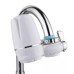 Purificador de água torneira da cozinha lavável filtro de cerâmica mini filtro de água ferrugem bactérias esterilização filtro substituição