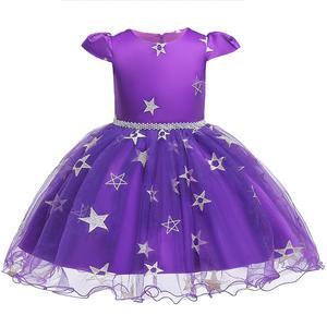 Image 5 - فستان عيد الميلاد هالوين زي حفلة أطفال أطفال تأثيري حلي للبنات فستان مع قبعة 3 5 7 9 11 13 سنة