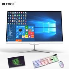 Intel I3/I5/I7 Dual-Core 8G Ram 120 Gb Ssd Met Optische Drive 23.8 Inch computer Office Desktop All-In-One Pc Ondersteuning Wifi