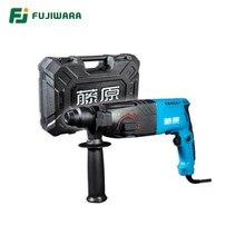 FUJIWARA-marteau électrique à trois fonctions, perceuse à percussion, outils de décoration pour la maison, haute puissance, 500-800W