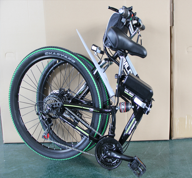 factory Price ready to ship electric bike 350W/500W 26 inch folding bike electric bicycle with 10Ah/13Ah battery 7