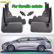 Molded Mud Flaps For Toyota Corolla E210 Touring Sports Estate 2019 2020 Mudflaps Splash Guards Flap Front Rear Mudguards Fender
