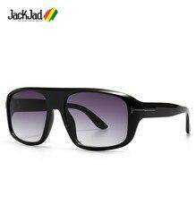 Jackjad 2020 moda vintage estilo duke shilled gradiente óculos de sol masculino ins popular design da marca óculos de sol 2025