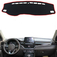 Dashboard Cover Sun Shade Non-slip Dash Mat Pad Carpet Car Stickers Interior Accessories For Kia sportage R 2018 2019