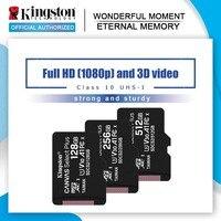 Kingston tarjeta de memoria Micro SD 32GB 16GB Class10 UHS-1 MicroSDHC tarjeta Mini SD de 64GB y 128GB MicroSDXC microsd para SmartPhone Android
