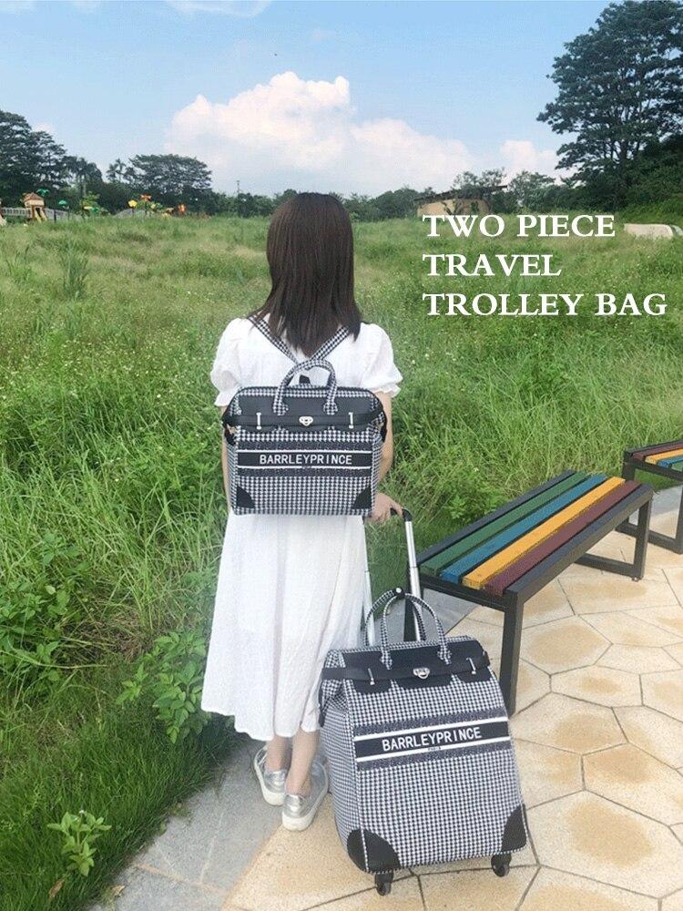 carrinho mochila trole de viagem