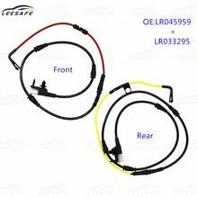 LR045959 + LR033295 Front + Rear Disc Brake Pad Wear Sensor for Land Rover Range Rover L405 Sport L494 Brake Sensor Replacement