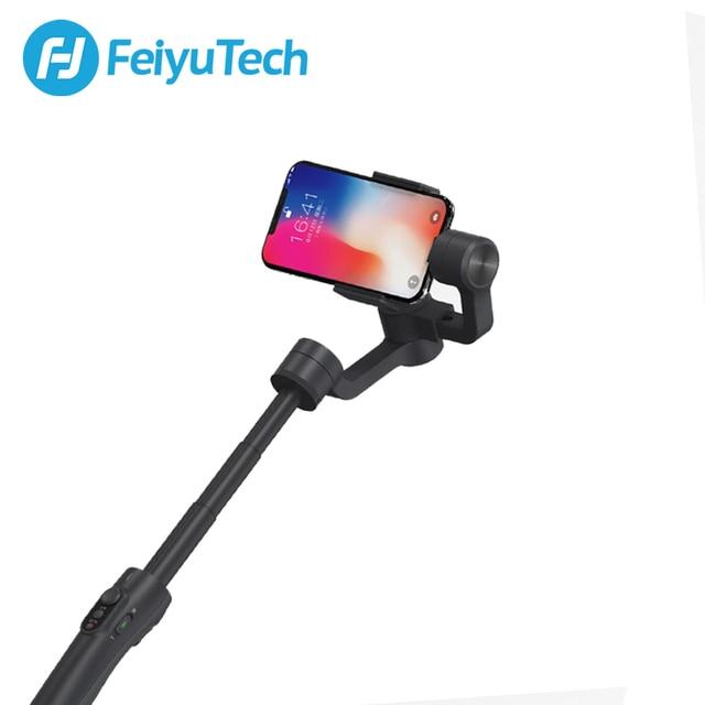 FeiyuTech Feiyu Vimble 2 Handheld Smartphone Gimbal 3 Axis Video Stabilizer met 183mm Pole voor iPhone X 8 XIAOMI Samsung s8