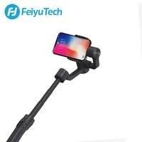 FeiyuTech Feiyu Vimble 2 כף יד Smartphone Gimbal 3 ציר וידאו מייצב עם 183mm מוט עבור iPhone X 8 XIAOMI סמסונג s8-בגימבלים ידניים מתוך מוצרי אלקטרוניקה לצרכנים באתר