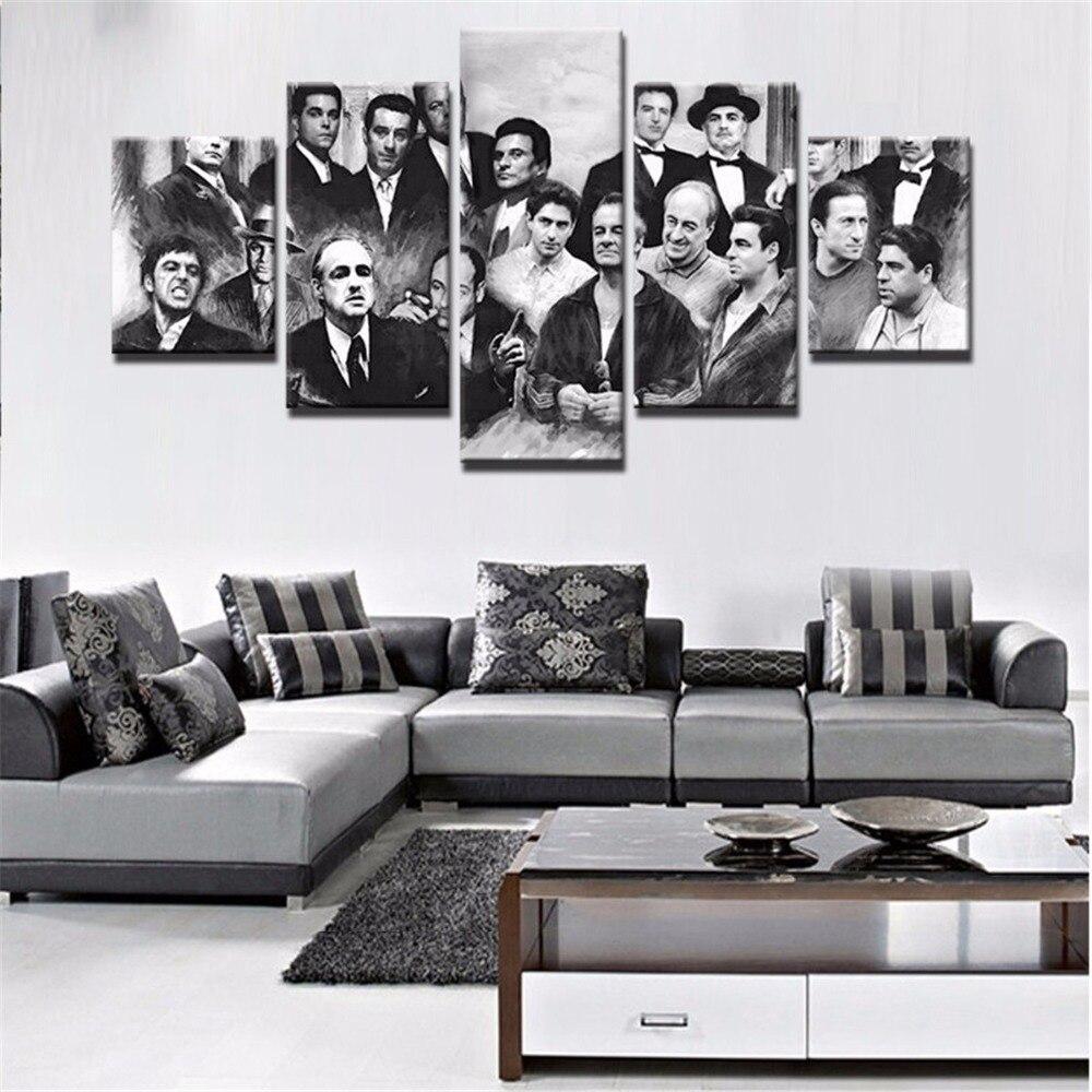 Распродажа холст нарисованный кинопостер HD Печать дома гостиная гобелен на стену искусство печатает модульные изображения плакат