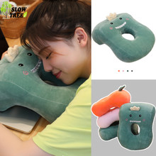 Nap Sleeping Face Pillow Office Table School Desk Nap Head Neck Pillow Supporter Seat Cushion Headrest Travel Neck Pillow(China)
