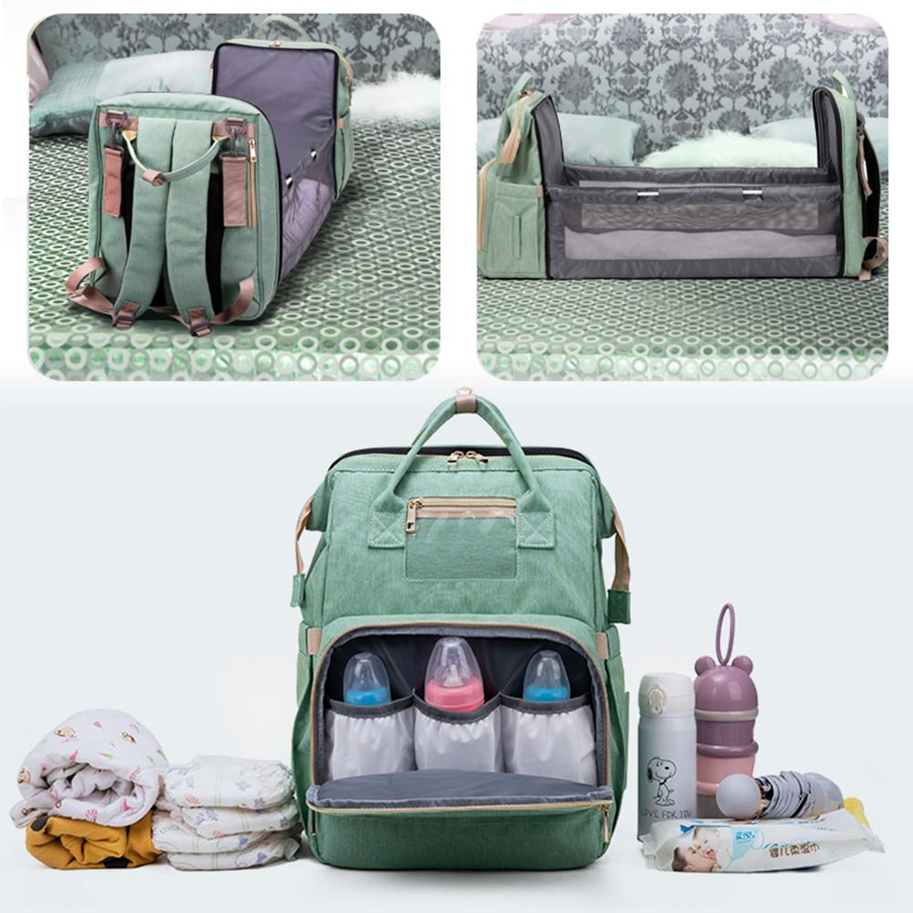 Multifunction Baby Diaper Bag Backpack Bed Crib Baby Sleeping Bag For Travel Bed Diaper Pad Stroller Organizer In Stock Dropship