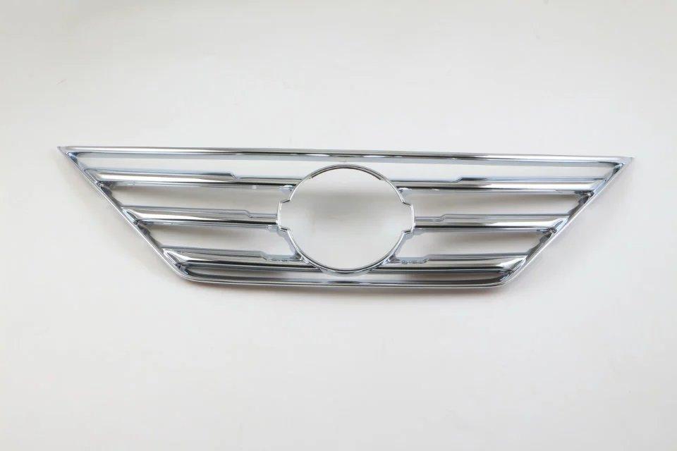 Otomobiller ve Motosikletler'ten Krom Şekillendirici'de Nissan Teana 2016 için 1 ADET ABS Krom Araba Ön Hava Izgarası Dekorasyon Sequins Süresi Kapak Araba Styling Aksesuarları title=