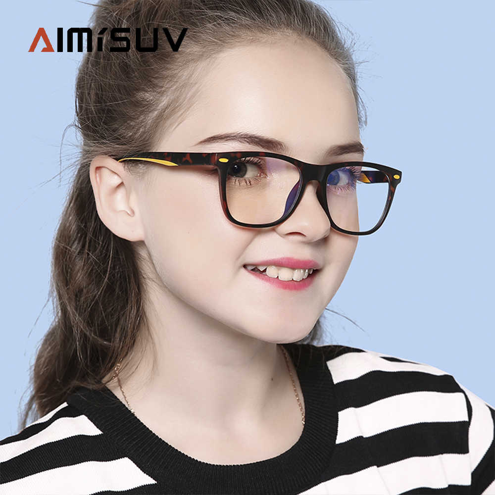 UV400 Protection,Anti Blue Ray Computer Game Glasses Blue Light Blocking Glasses for Kids