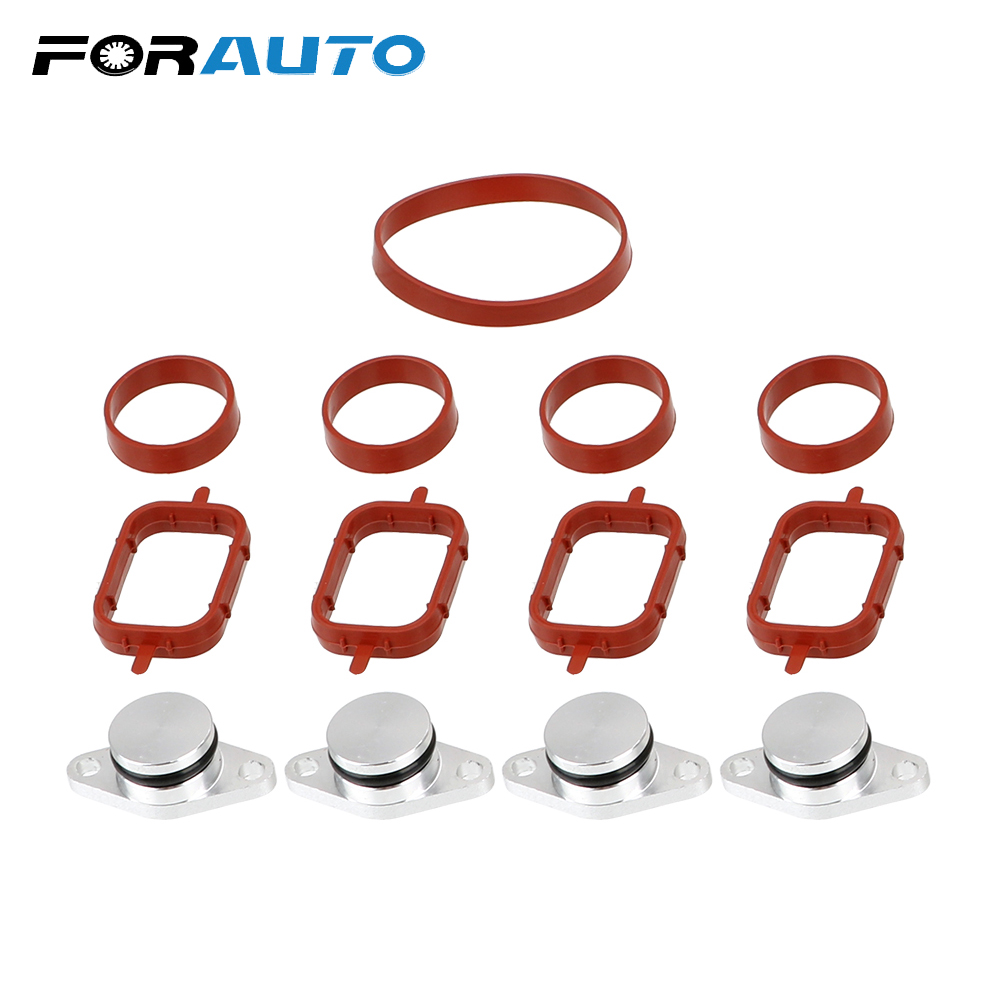 FORAUTO Swirl Flap Blanking Plates Seal For BMW Modification Accessories 22mm Diesel Swirl Flap Blanks Aluminum Replacement Bung image