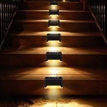Светодиодный солнечный светильник путь лестницы на открытом