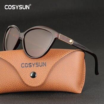 Женские винтажные солнцезащитные очки Кошачий глаз