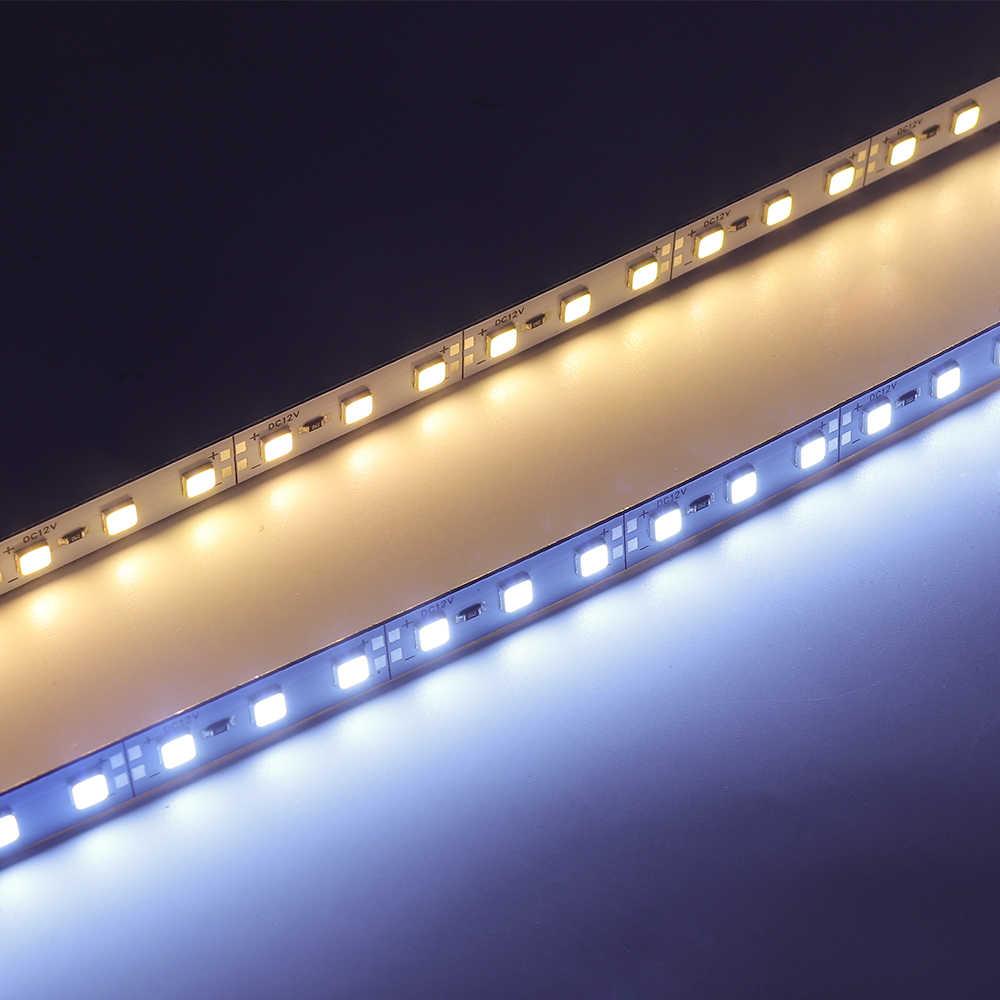 10 قطعة SMD 5054 Led الصلب شريط حانات ضوء 25 سنتيمتر 50 سنتيمتر 100 سنتيمتر الأبيض ، الجليد الأزرق ، الأحمر ، الأزرق ، الأخضر عمود إضاءة led شرائط مصباح الألومنيوم جامدة قطاع