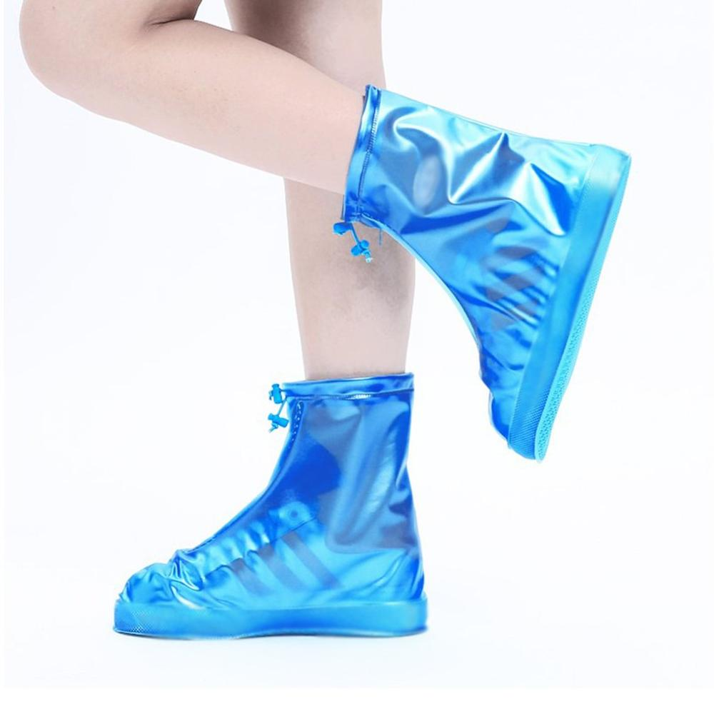 Unisex Waterproof Protector Shoes Cover Rain Collectible Shoe Covers Anti-Slip
