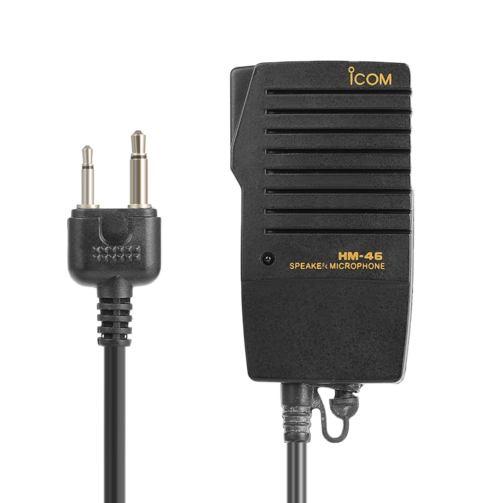 Walkie Talkie Two Way Radio HM-46 Microphone Handheld Speaker Mic For ICOM IC-T2H IC-T7H IC-T90A IC-W32A IC-2GXAT IC-T22A
