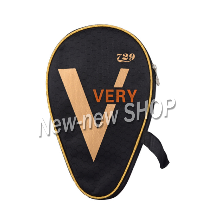 2 Pcs Ritc 729 Friendship Table Tennis Case Ping Pong Bag Bat Cover For Racket