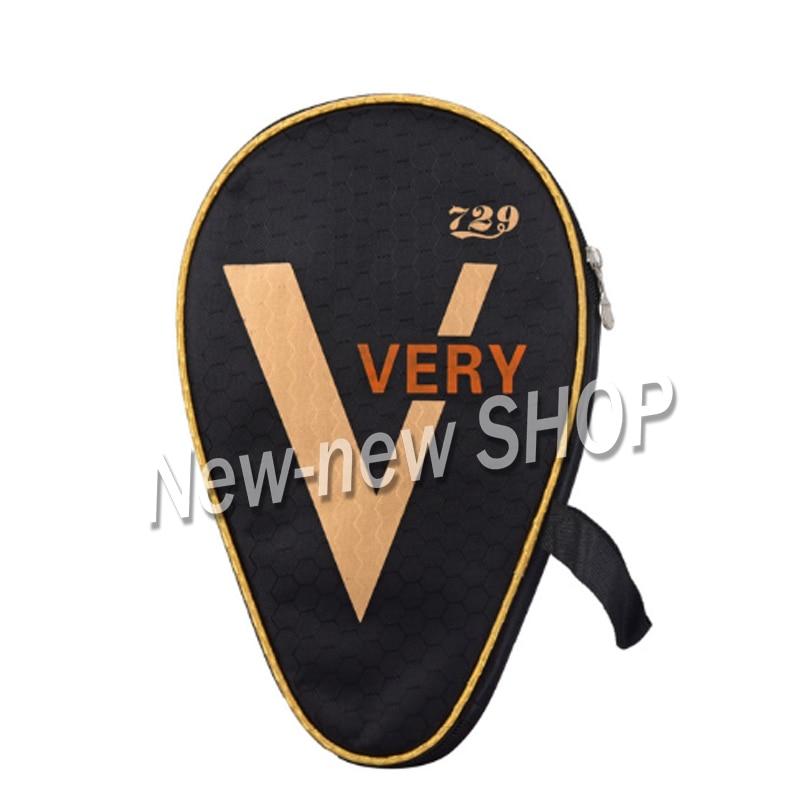 2 Pcs Ritc 729 Friendship Table Tennis Case Ping Pong Bag Bat Cover For Racket