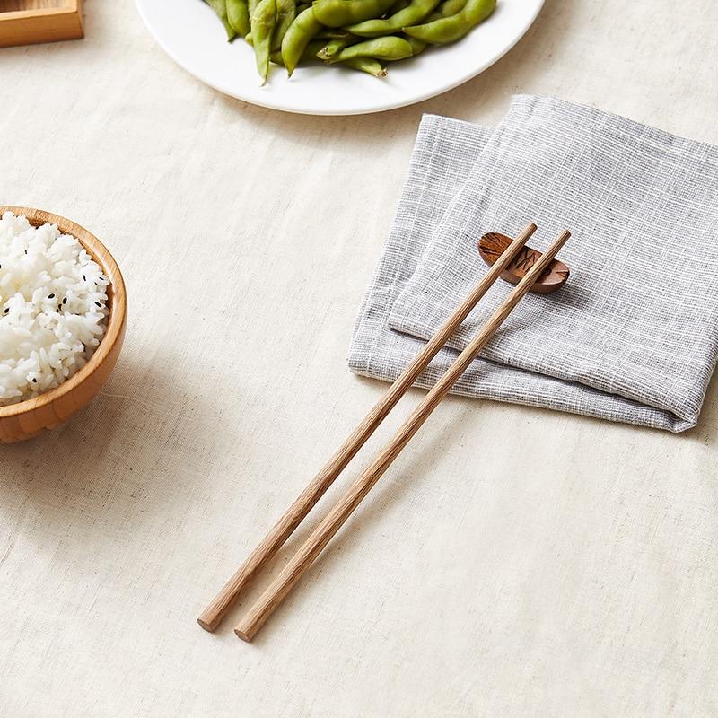 1 пара китайские натуральные деревянные бамбуковые палочки для
