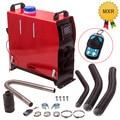 12V 5000W ЖК-дисплей Remote Air дизельный Обогреватель 2KW-5KW для автомобилей грузовых автомобилей на колесах 4 отверстия для автобуса Грузовик Мотор-...