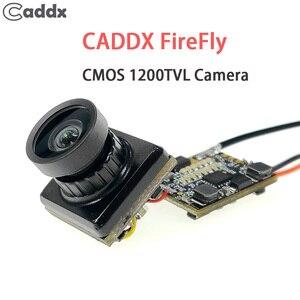 "Image 1 - Caddx اليراع 1/3 ""CMOS 1200TVL 2.1 مللي متر عدسة 16:9 / 4:3 NTSC/PAL FPV كاميرا مع VTX ل RC مولتيروتور FPV سباق بدون طيار"