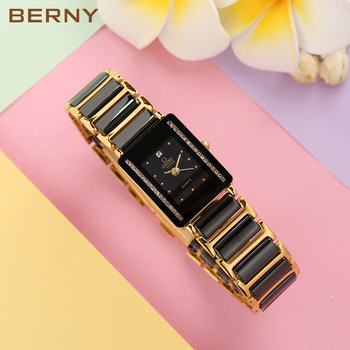 Fashion Lady Ceramic Watch women  Janpanese Quartz Lovely relogio masculino Water Resistant feminino gift Present 2010L