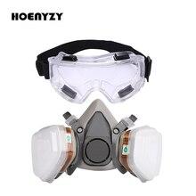 Masque à gaz demi peinture faciale industrielle