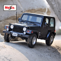 Maisto 1:18 Jeep Wrangler car alloy car model simulation car decoration collection gift toy Die casting model boy toy