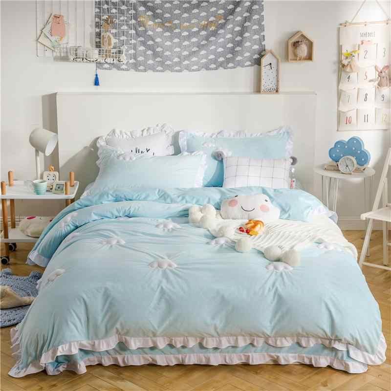 gold blue beautiful comforter teens