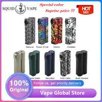 Novo original squid industries duplo barril v3 150 w vw mod de gordura design superior e-cig mod com display oled vs drag 2/luxe mod