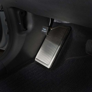 Image 1 - For Hyundai Tucson 2015 2016 2017 2018 2019 2020 No Drilling Stainless Steel Left Foot Rest Pedal Cover Non Slip Pad Accessories