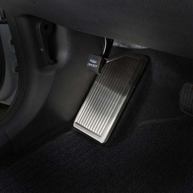 For Hyundai Tucson 2015 2016 2017 2018 2019 2020 No Drilling Stainless Steel Left Foot Rest Pedal Cover Non Slip Pad Accessories