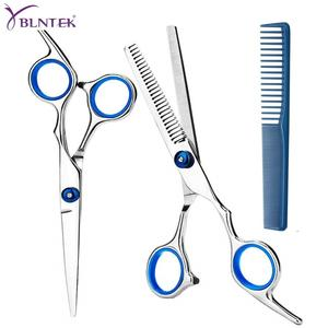 YBLNTEK Hairdressing Scissors 6 Inch Hair Scissors Professional Barber Scissors Cutting Thinning Styling Tool Hairdressing Shear