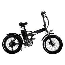 GW20 500 Вт 20 дюймовый Электрический складной велосипед, 4,0 жирная шина, 48 В 15Ah мощная литиевая батарея, снежный велосипед, мощный велосипед